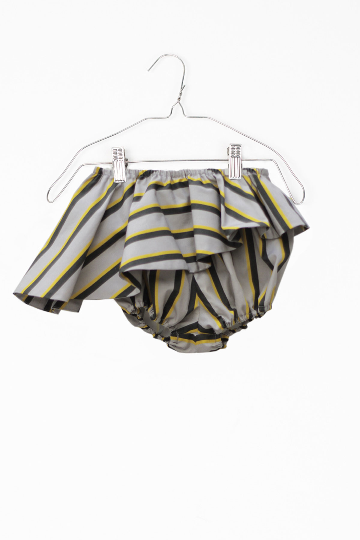 Motoreta Grey - Elina Baby Short Stripe - Clothing