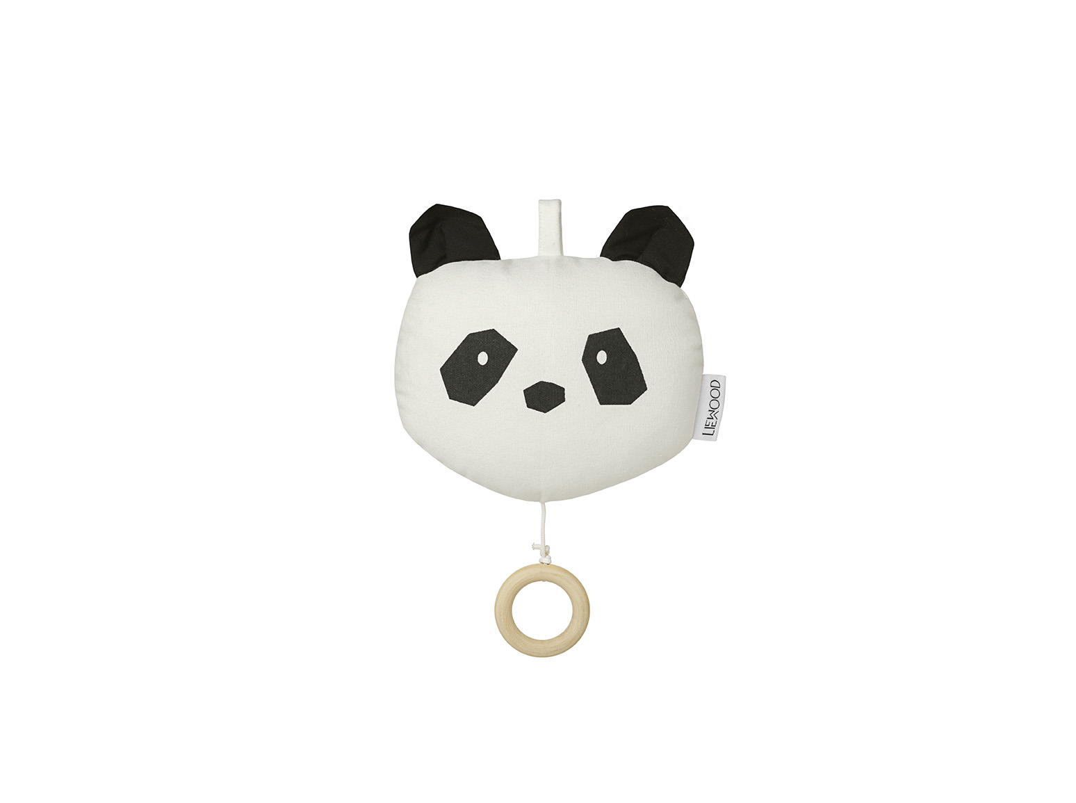 Liewood Ecru - Alma music mobile Panda - Homeware
