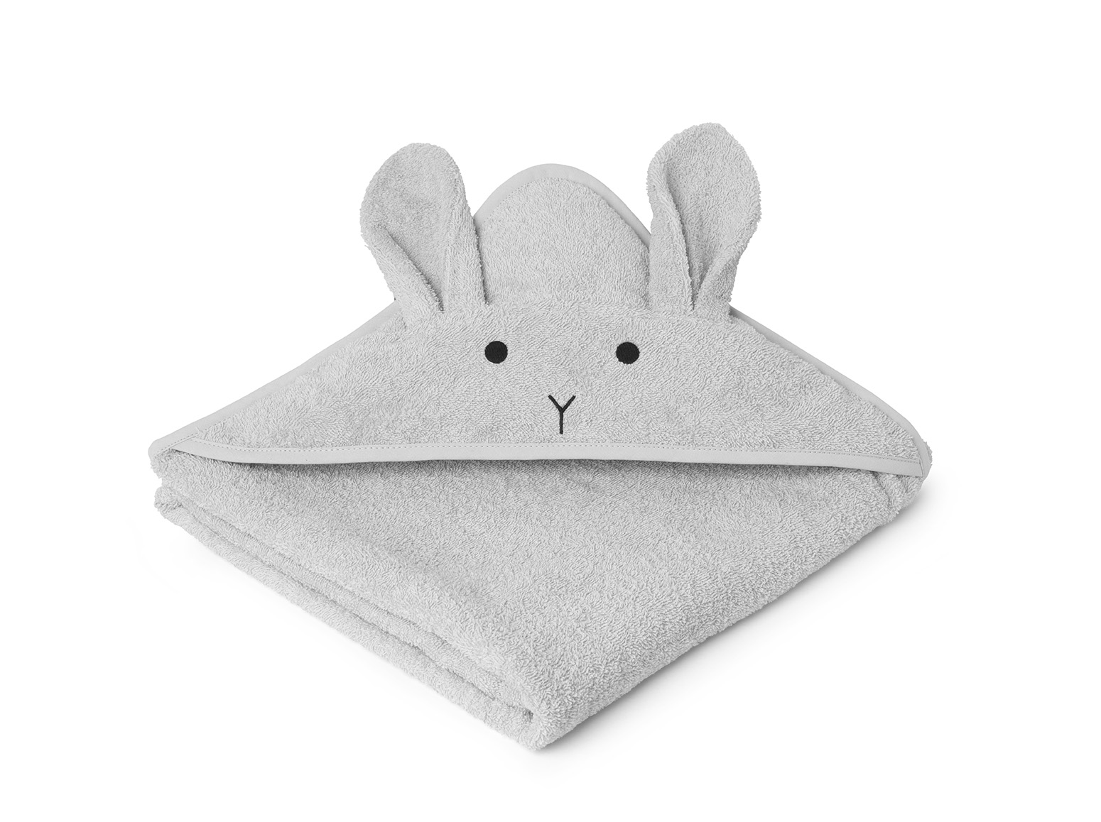 Liewood Grey - Hooded towel Rabbit - Homeware