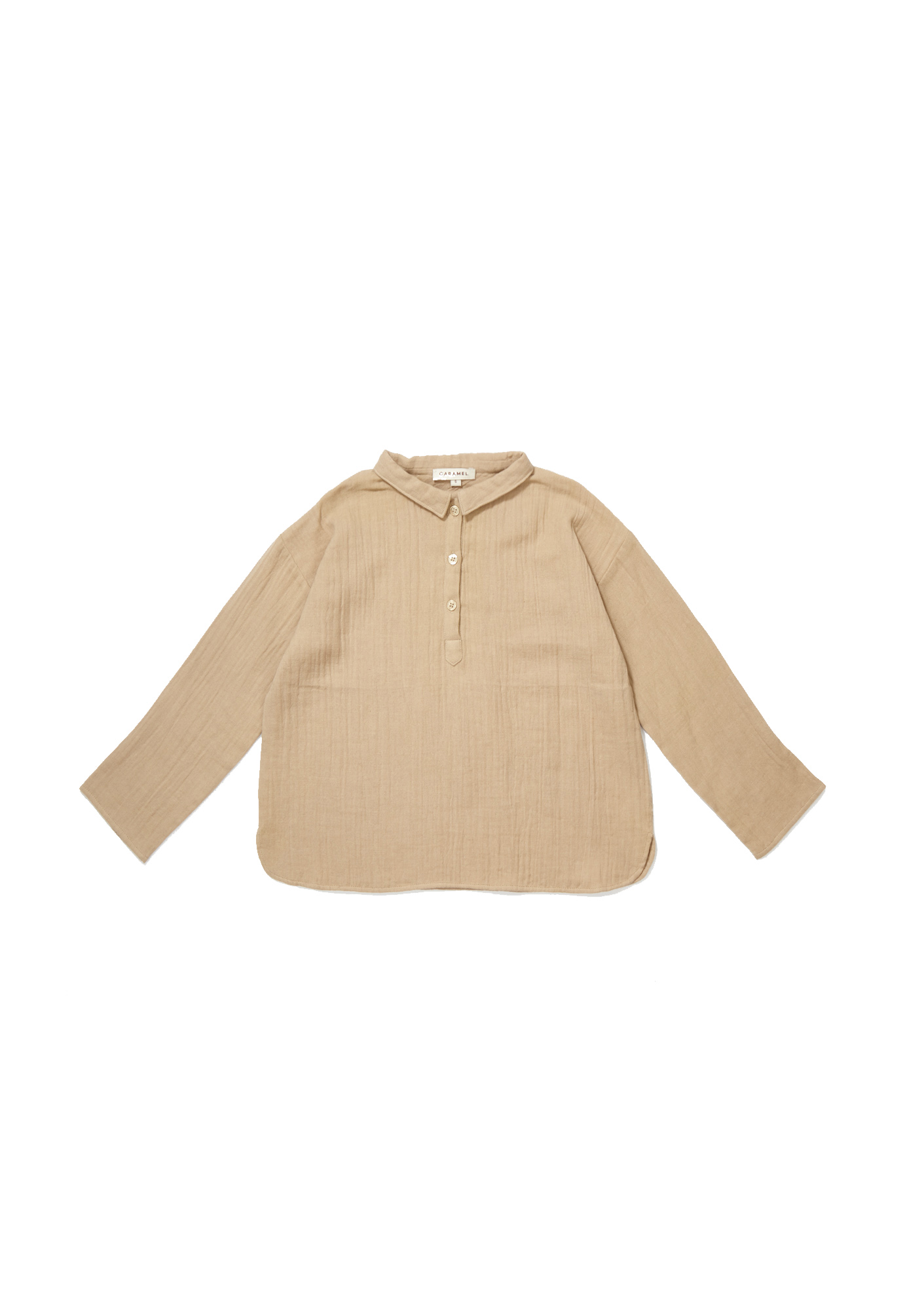 Caramel Beige - Camber Shirt - Clothing