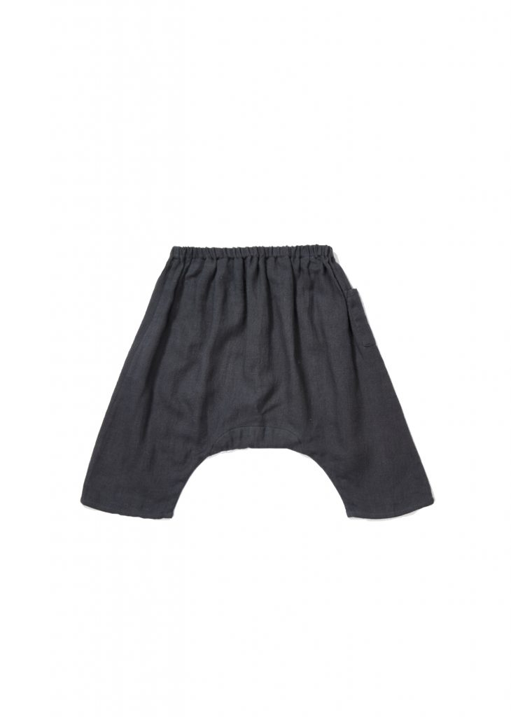 Caramel Grey - Crawley Baby Trouser Dark Slate - Clothing