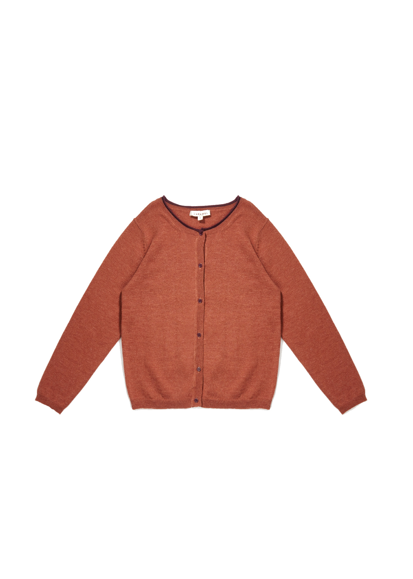 Caramel Red - Hazlewood Cardigan - Clothing