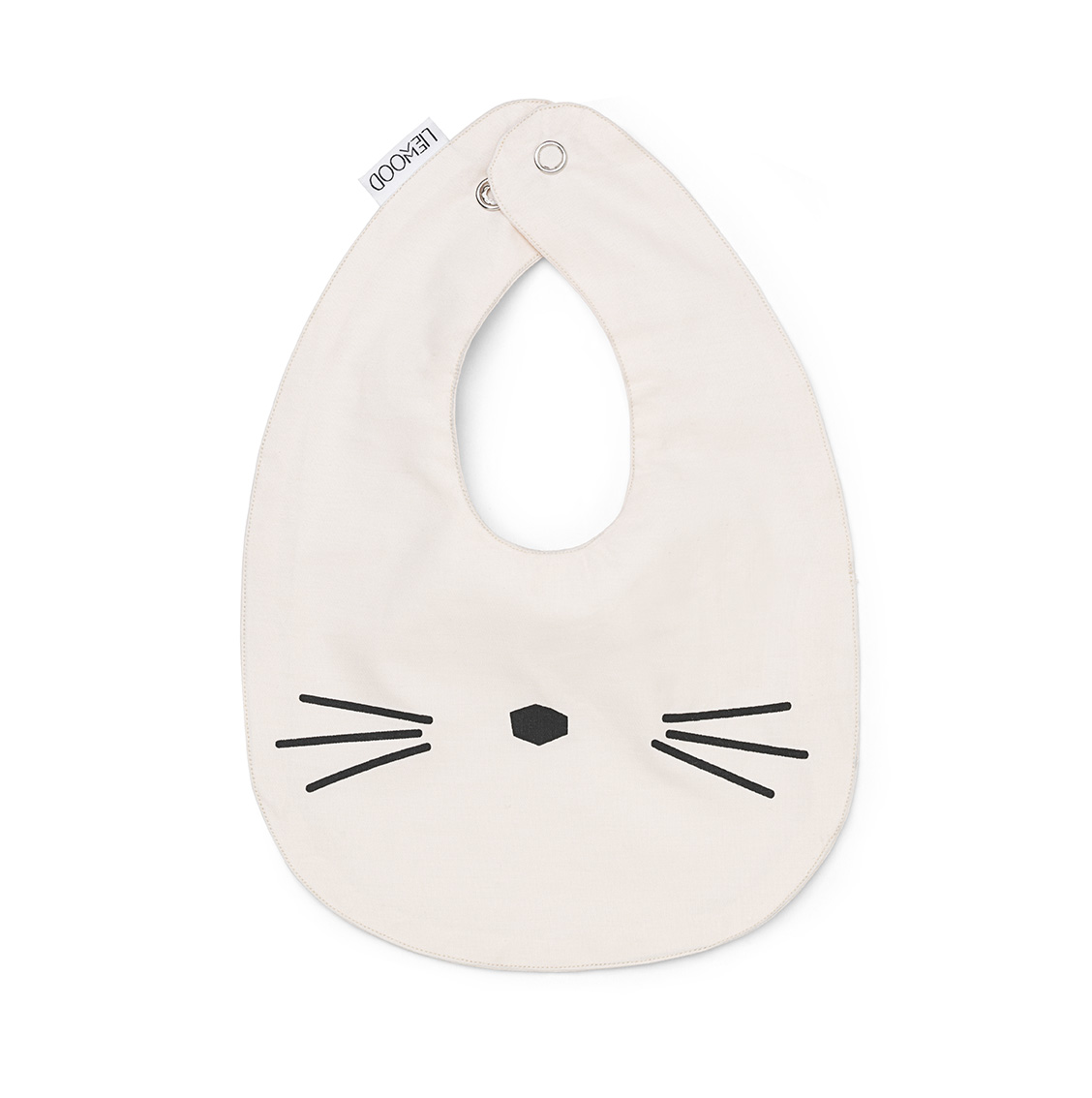 Liewood Pink - Henry bib Cat 2 pack - Accessories