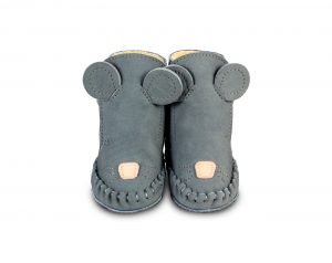 Donsje Grey - Kapi Lining  Baby Shoes Mouse - Footware