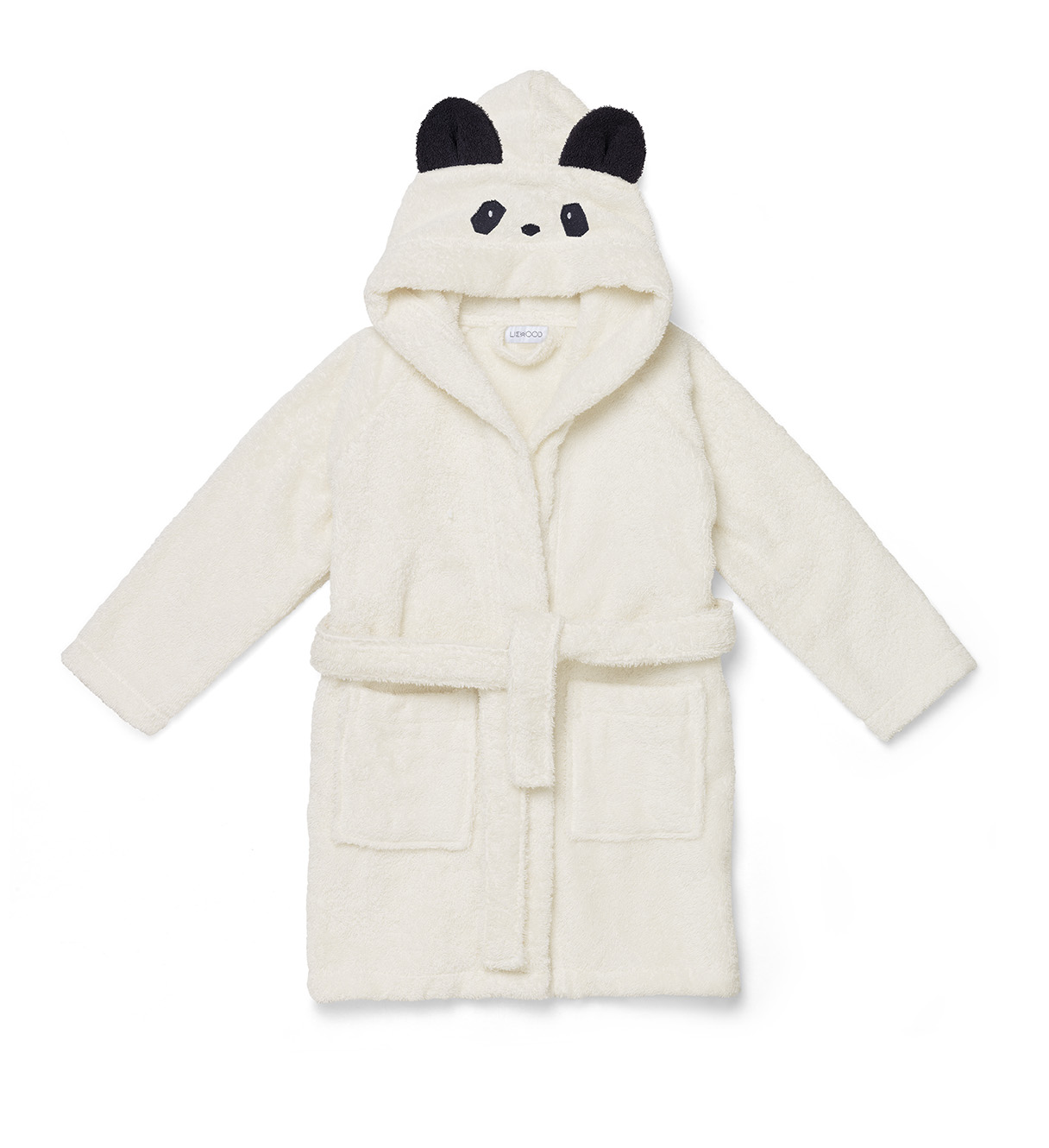 Liewood Ecru - Lily bathrobe Panda - Homeware