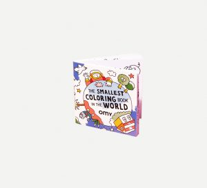 OMY  - MINI COLORING - THE SMALLEST COLORING - Toys