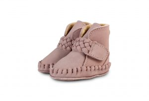 Donsje Lilac - Mace Lining  Baby Shoes Lilac Nubuck - Footware