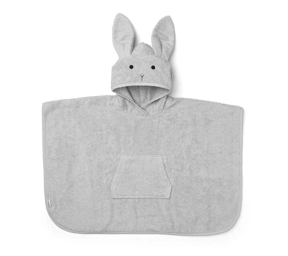 Liewood Grey - Orla poncho Rabbit - Homeware