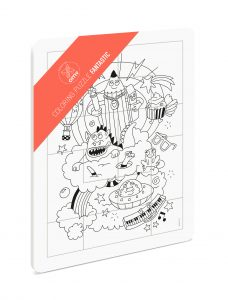 OMY  - COLORING PUZZLE - FANTASTIC - Toys