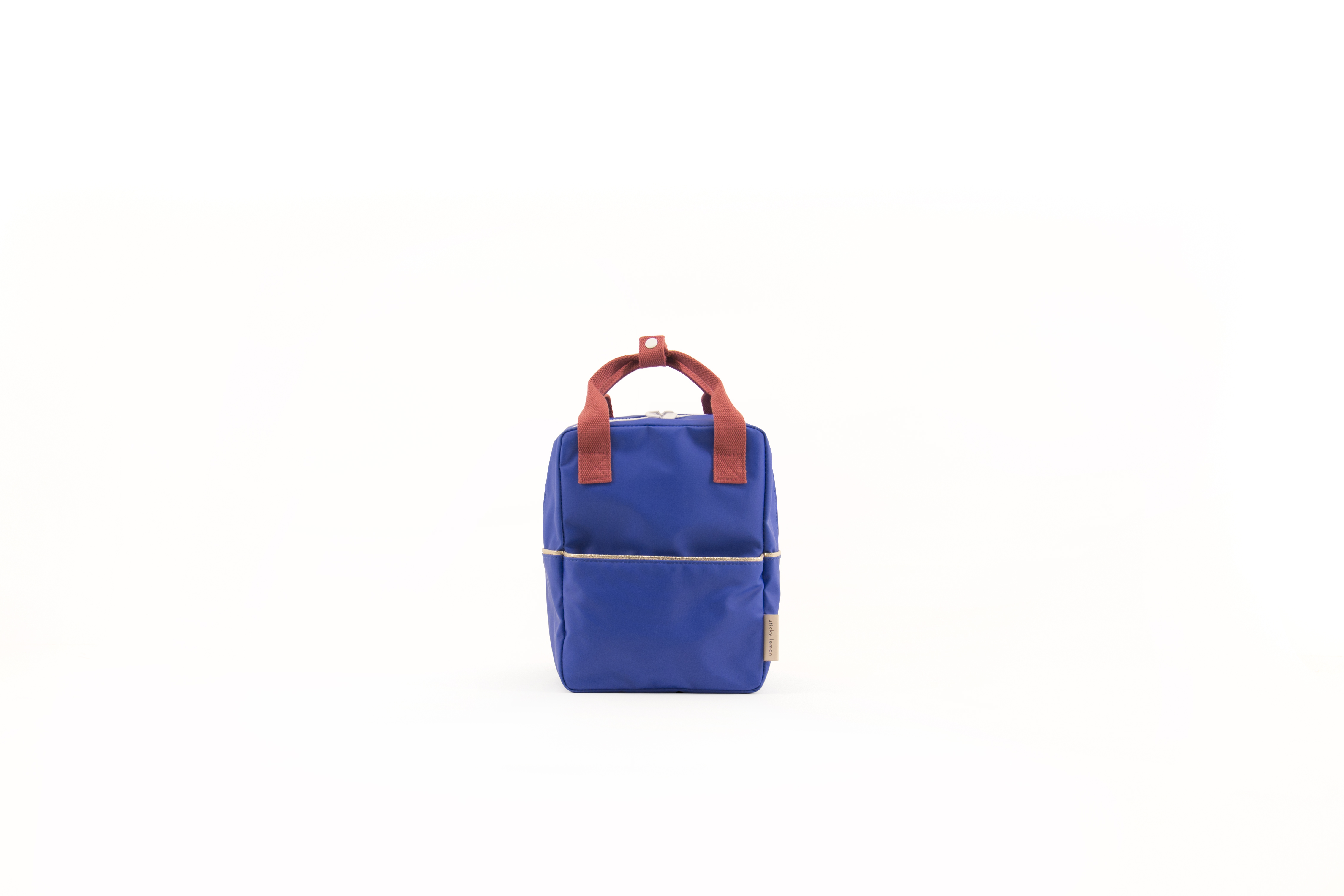 Sticky Lemon Blue - Backpack Small - Ink Blue - Accessories
