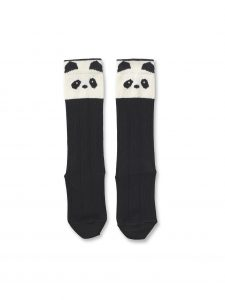 Liewood Ecru - Sofia knee socks Panda - Accessories