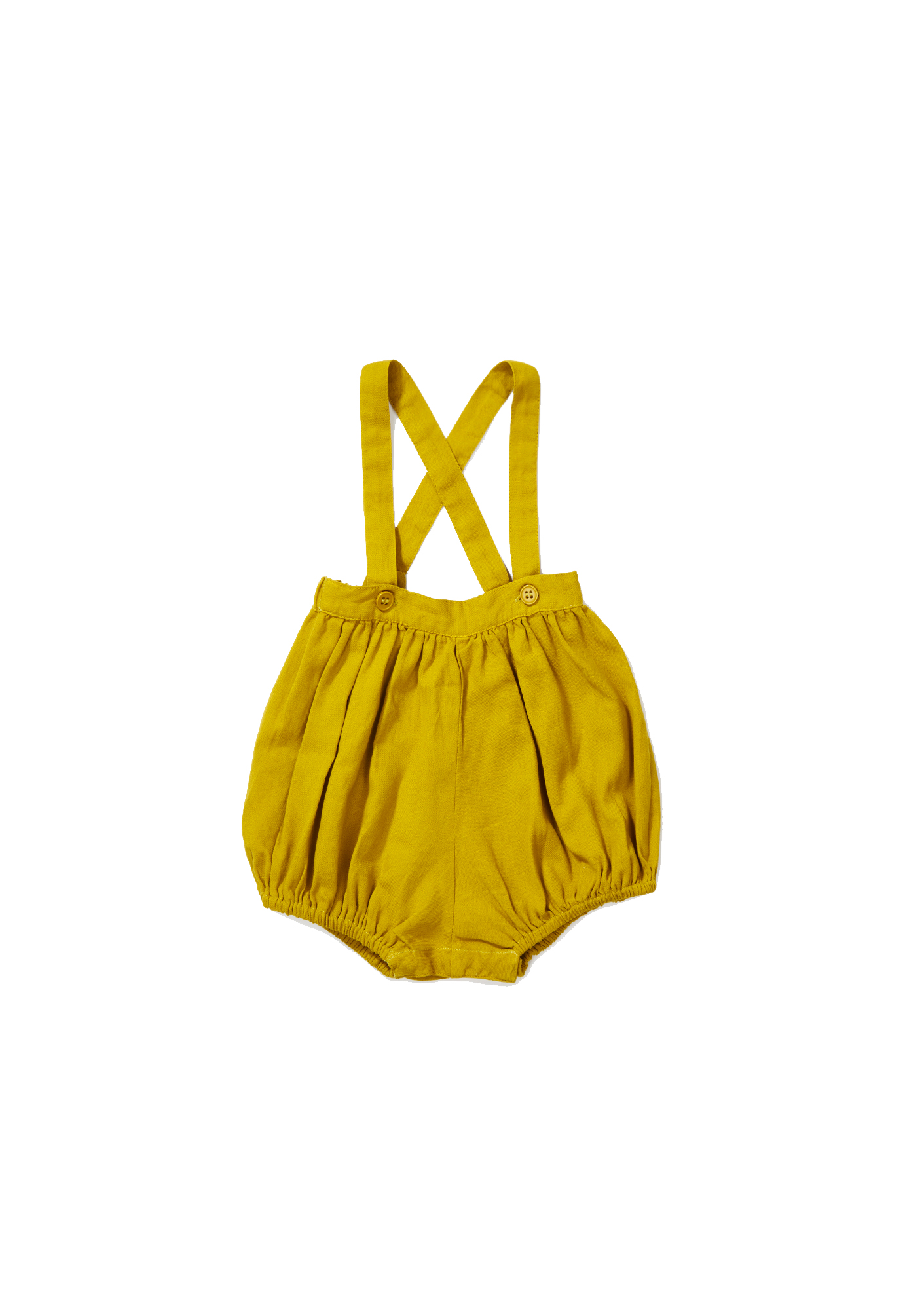 Caramel Yellow - Wilton Romper - Clothing