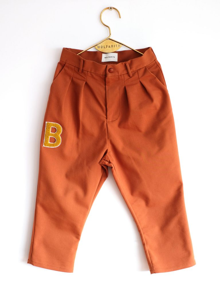 Wolf & Rita Orange - Andre Orange Trousers - Clothing