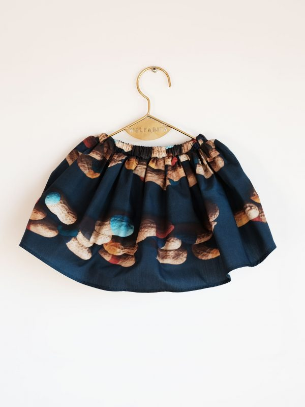 Wolf & Rita Navy - Carla Peanuts Skirt - Clothing