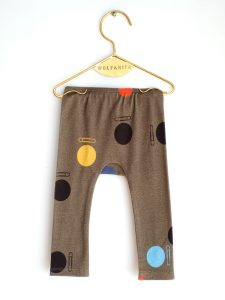 Wolf & Rita Grey - Joao Clips Trousers - Clothing