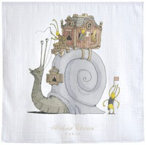 Atelier Choux  - Carré Snail Riding - Homeware