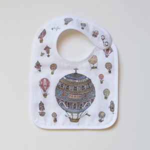 Atelier Choux  - Small Bib - Hot Air Balloons - Accessories