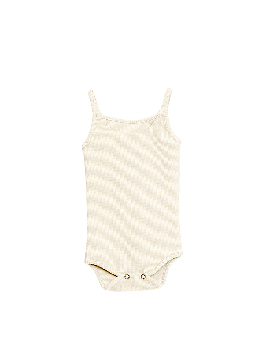 Little Creative Factory  - Soft Baby Leotard IVORY - Clothing