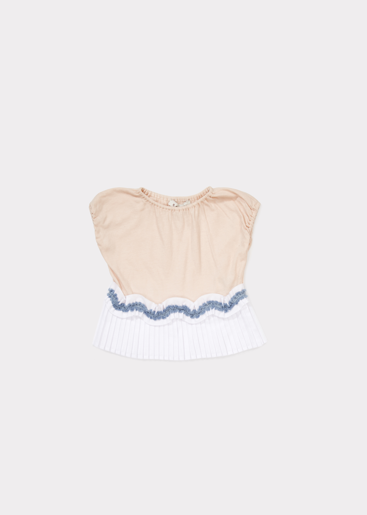 Caramel  - AMISK BABY T-SHIRT BLUSH PINK - Clothing