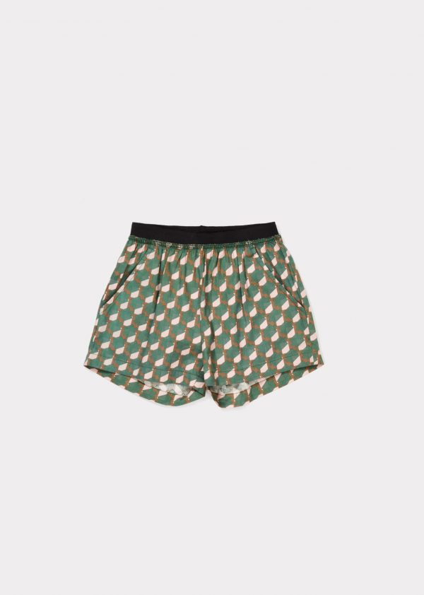 Caramel  - BEDOK SHORT MINT/PINK - Clothing