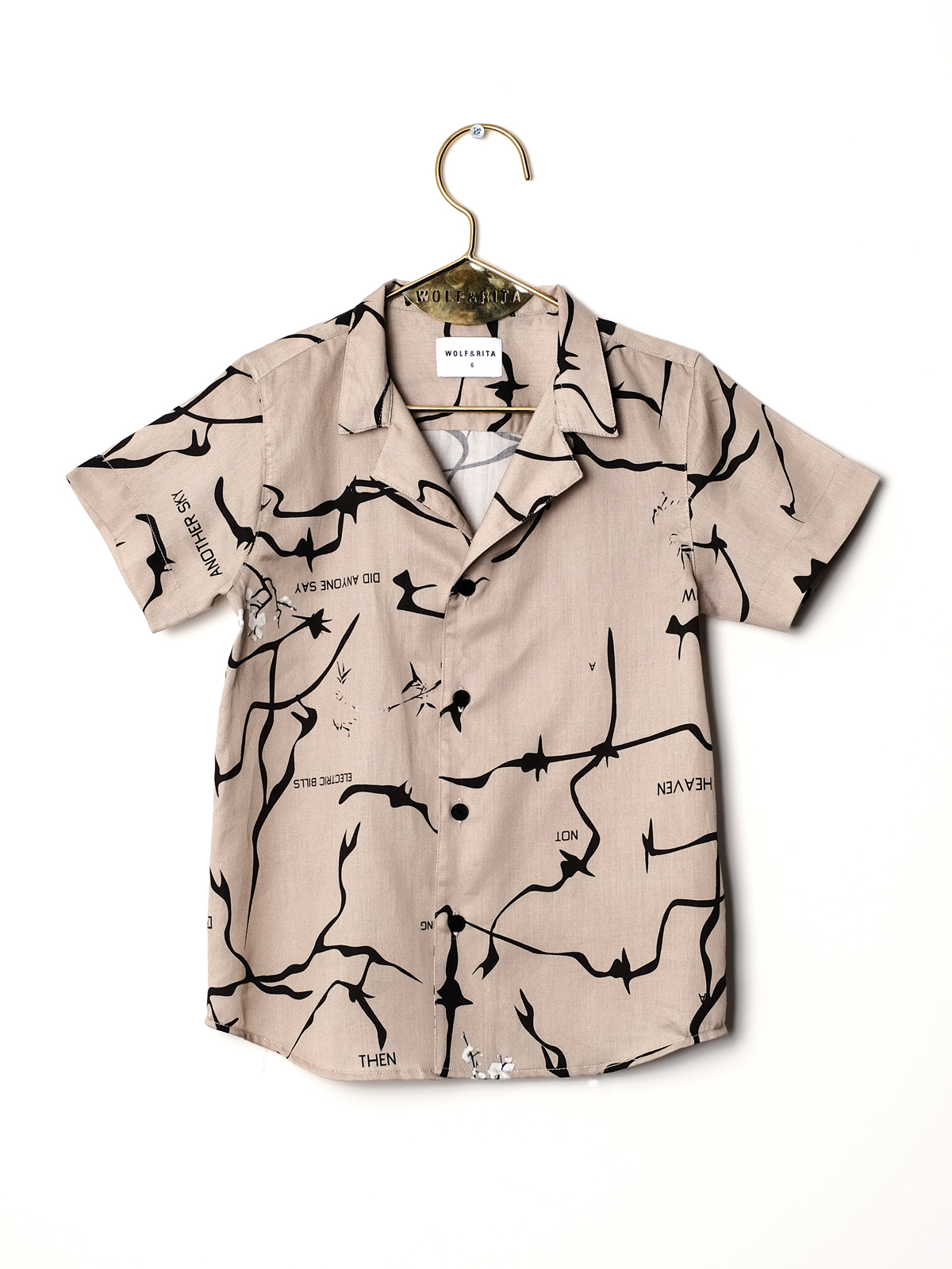 Wolf & Rita  - BRUNO THIS IS NOW SHIRT - Clothing
