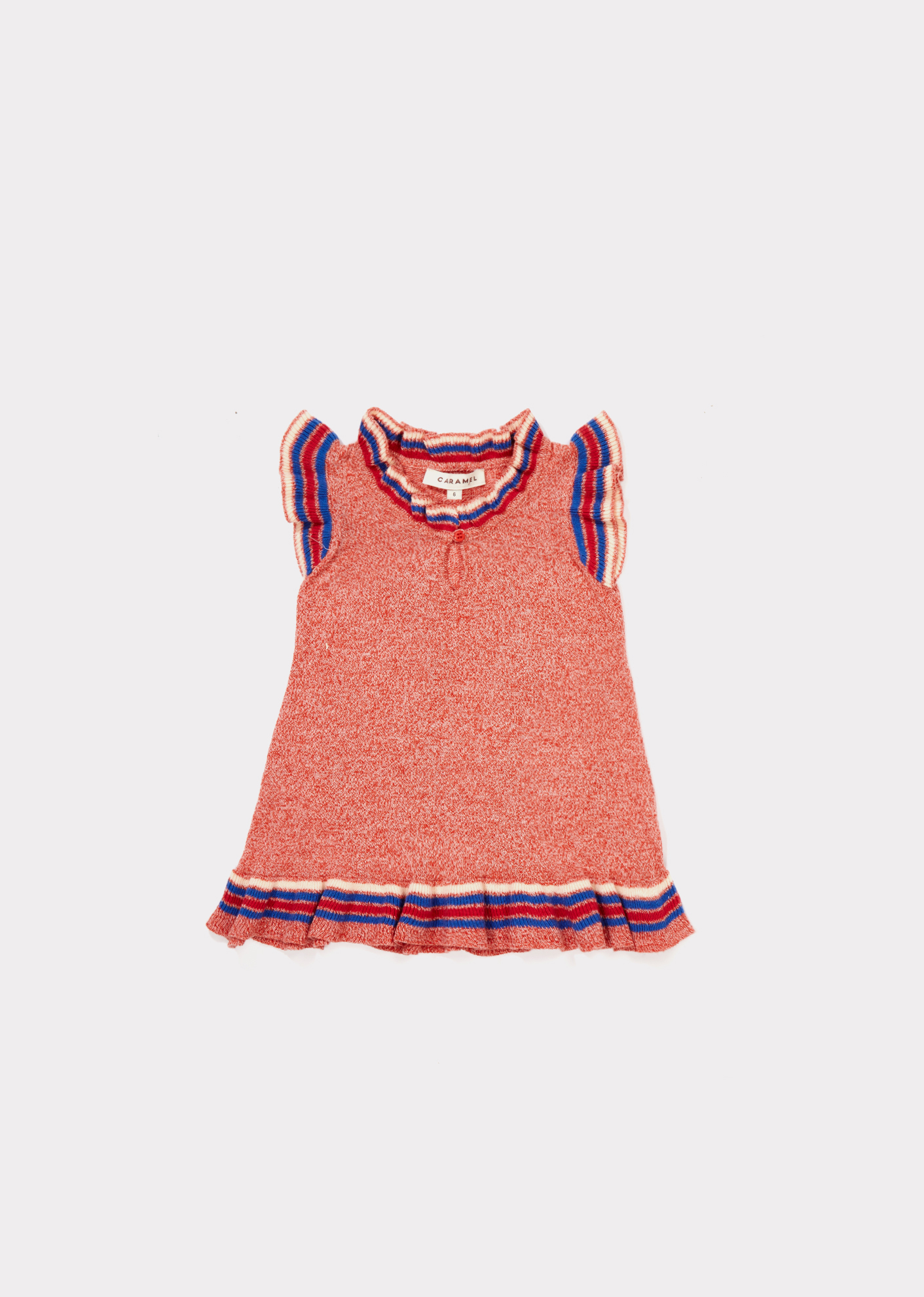 Caramel  - FONTANA BABY DRESS STRAWBERRY - Clothing