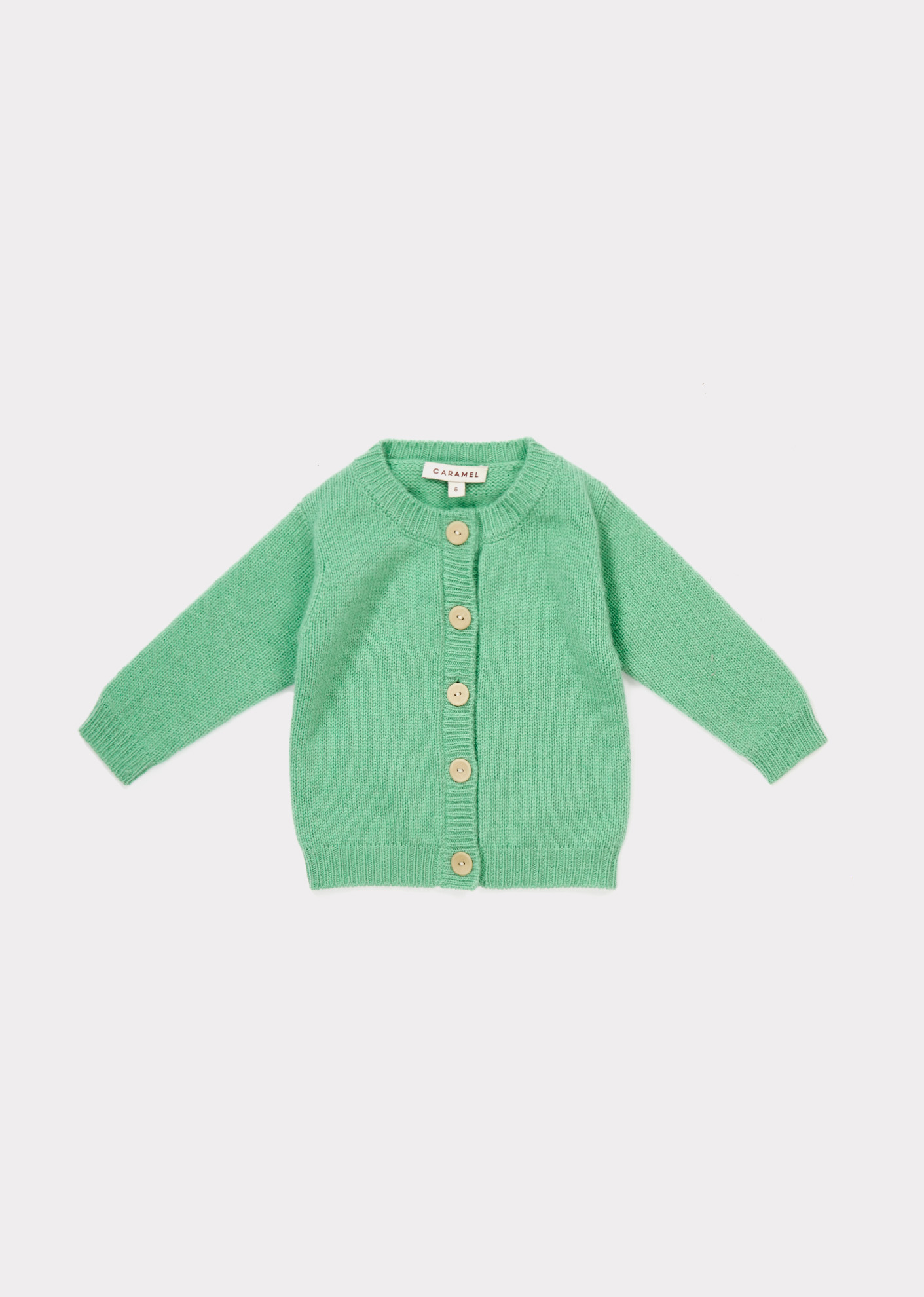 Caramel  - HAYWARD BABY CARDIGAN MINT - Clothing