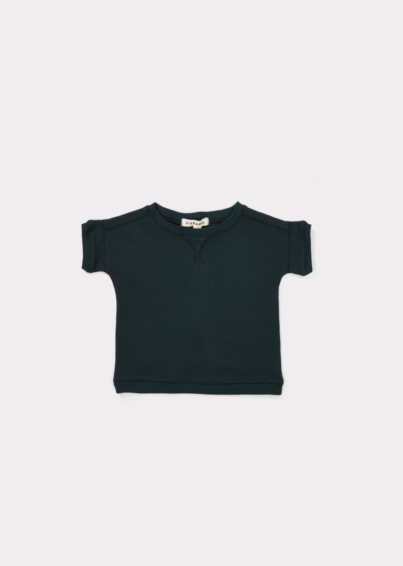 Caramel  - KEZAR BABY T-SHIRT FOREST GREEN - Clothing