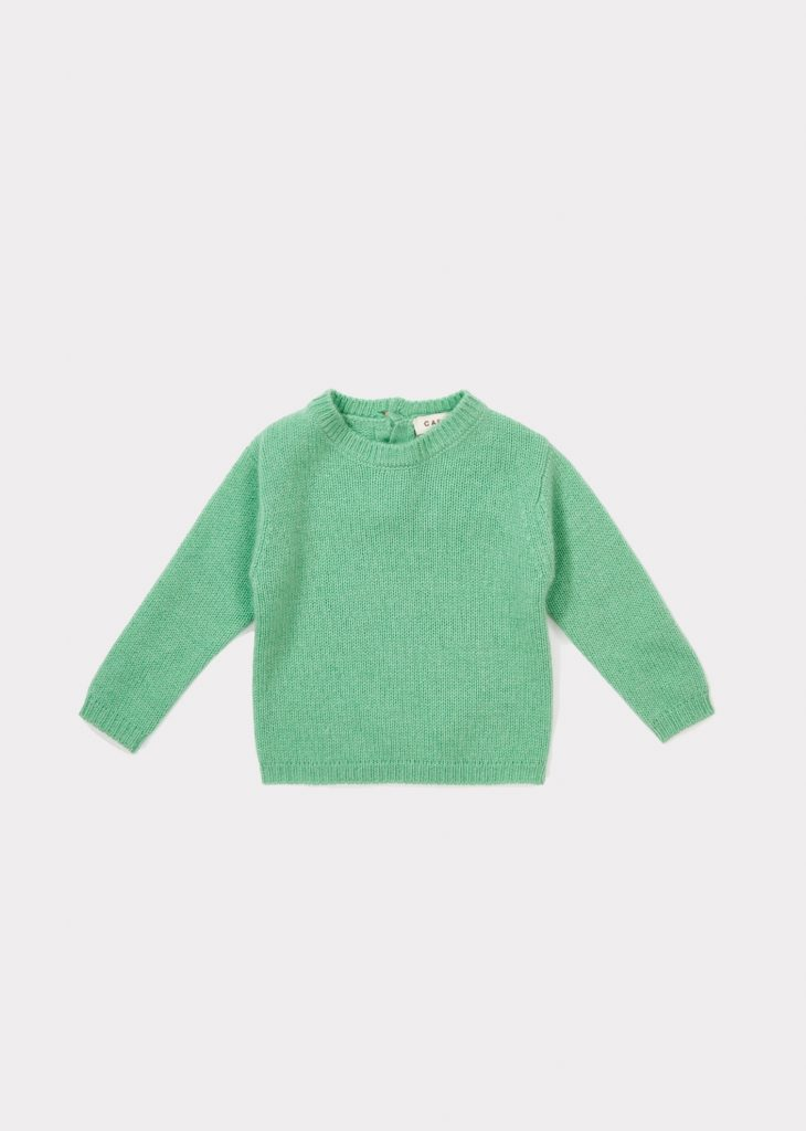 Caramel  - LANYER BABY JUMPER MINT - Clothing