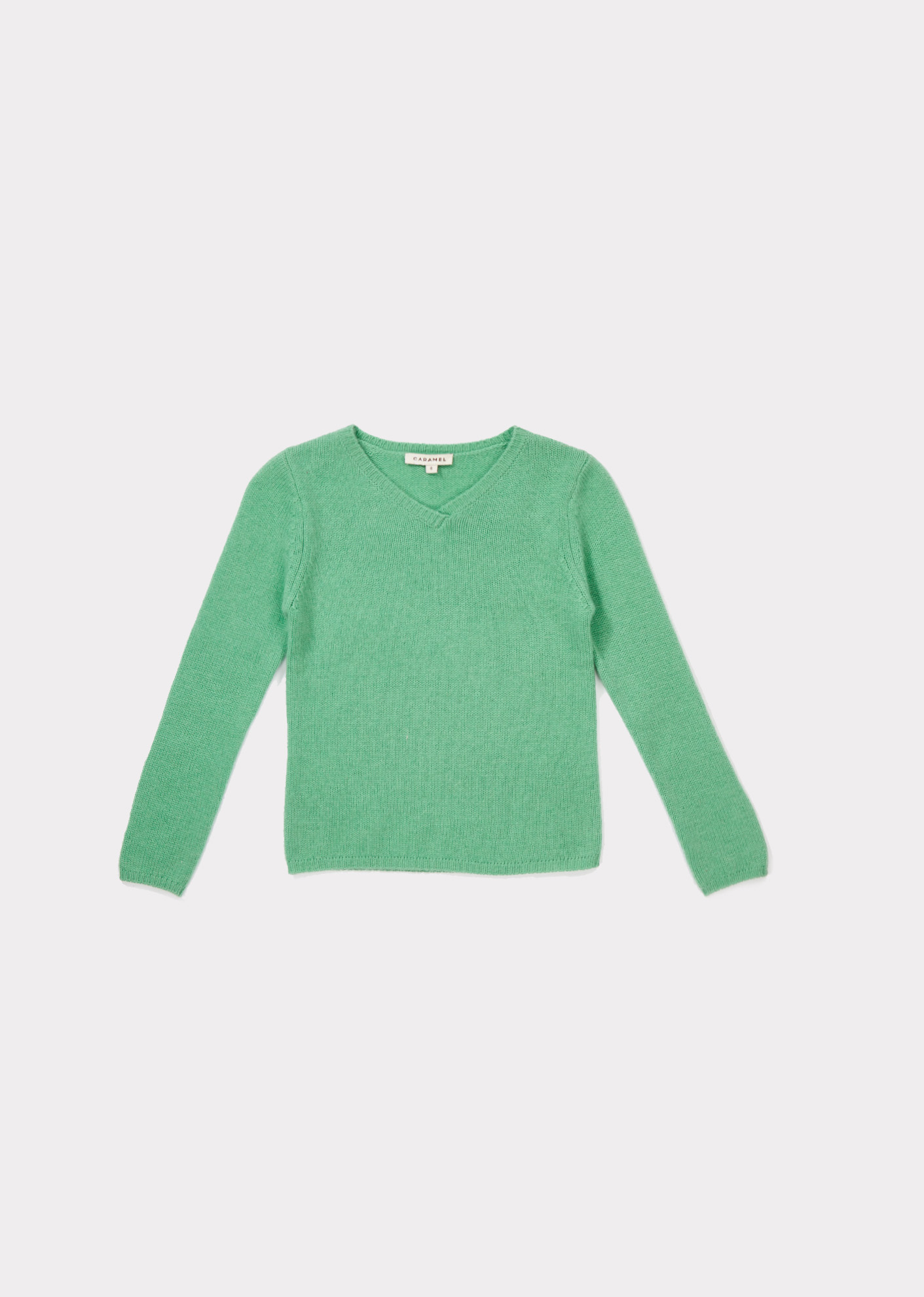 Caramel  - LANYER JUMPER MINT - Clothing