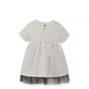 Little Creative Factory  - TAP BABY DRESS WHITE - Clothing