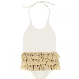 Little Creative Factory  - BABY DEGAS BATHING SUIT IVORY - Clothing