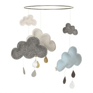 Konges Sløjd  - Blueberry Cloud Mobile - Homeware