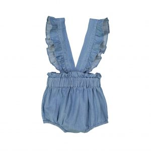 Louis Louise  - CADEAU BLUE CHAMBRAY BLOOMER - Clothing