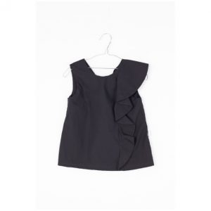 Motoreta  - MARIANA BLOUSE BLACK - Clothing