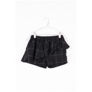 Motoreta  - ABI BABY SKORT BLACK & WHITE GRID - Clothing