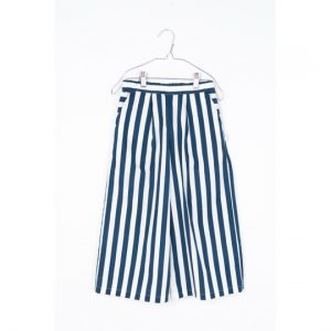 Motoreta  - CALA PANTS BLUE & WHITE STRIPES - Clothing