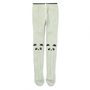Liewood  - Silje Stocking Panda Dusty Mint - Clothing