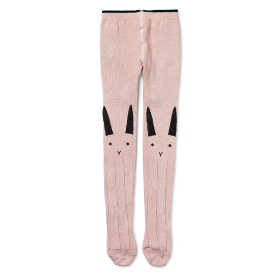 Liewood  - Silje Stocking Rabbit Rose - Clothing