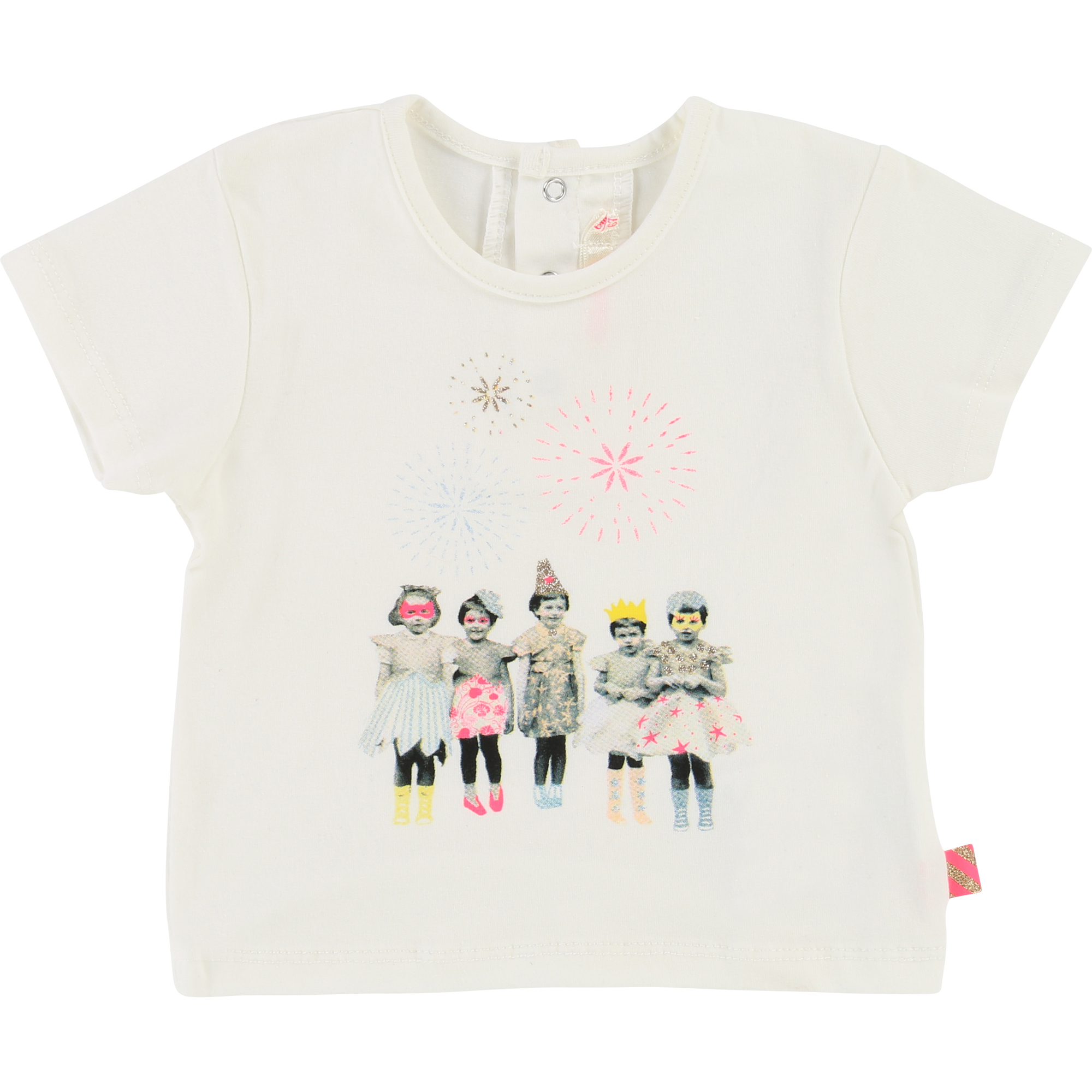 Billieblush  - SPRING IVORY T-SHIRT FRIENDS - Clothing