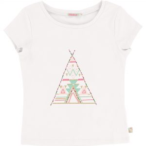 Billieblush  - PARTY IVORY T-SHIRT - Clothing