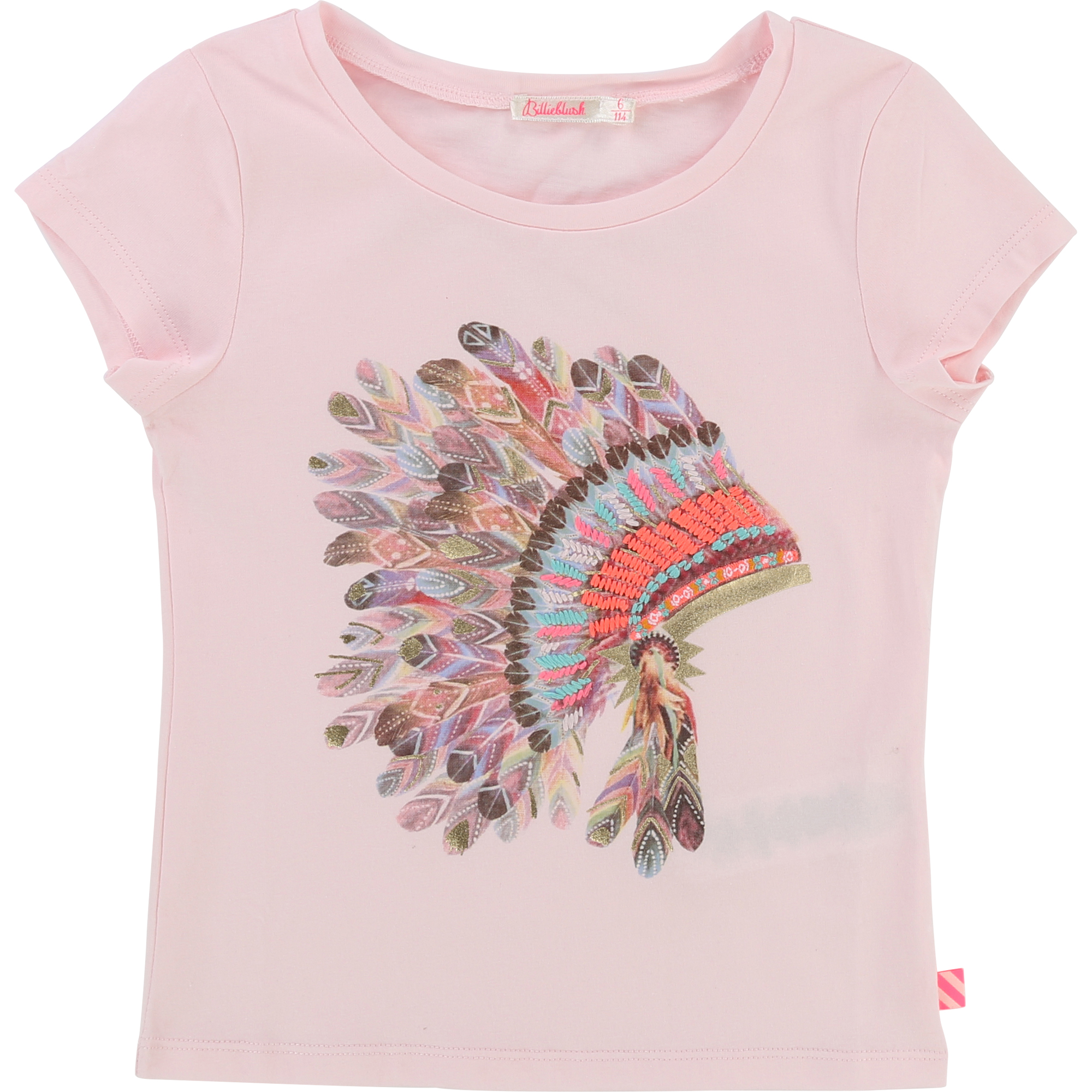 Billieblush  - PARTY PINK  PALE T-SHIRT - Clothing