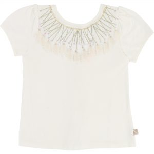 Billieblush  - CAPSULE IVORY T-SHIRT - Clothing