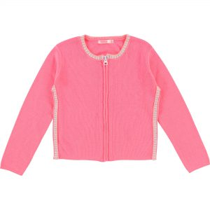 Billieblush  - PARTY FUSCHIA KNITTED CARDIGAN - Clothing