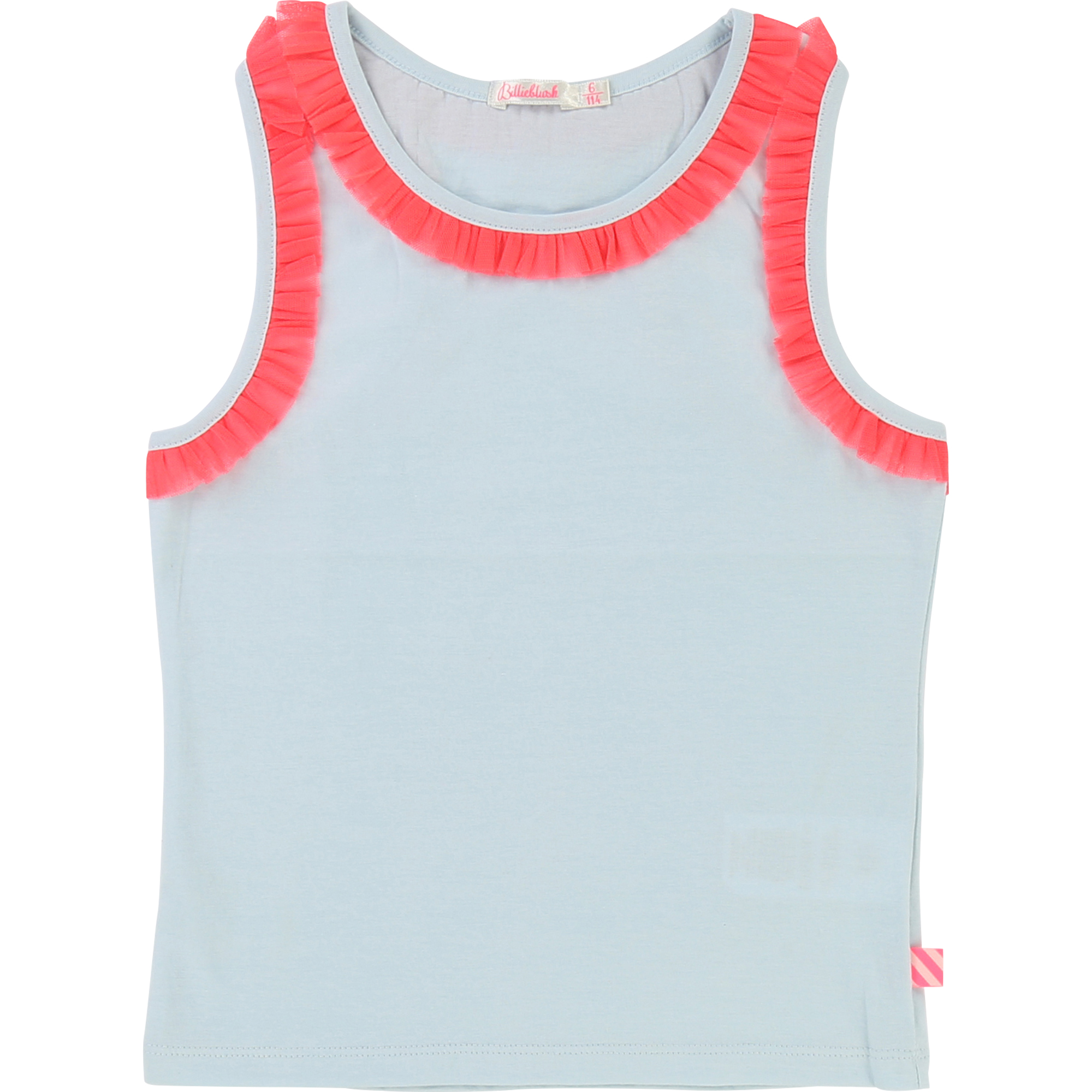 Billieblush  - SPRING PALE BLUE TANK TOP - Clothing