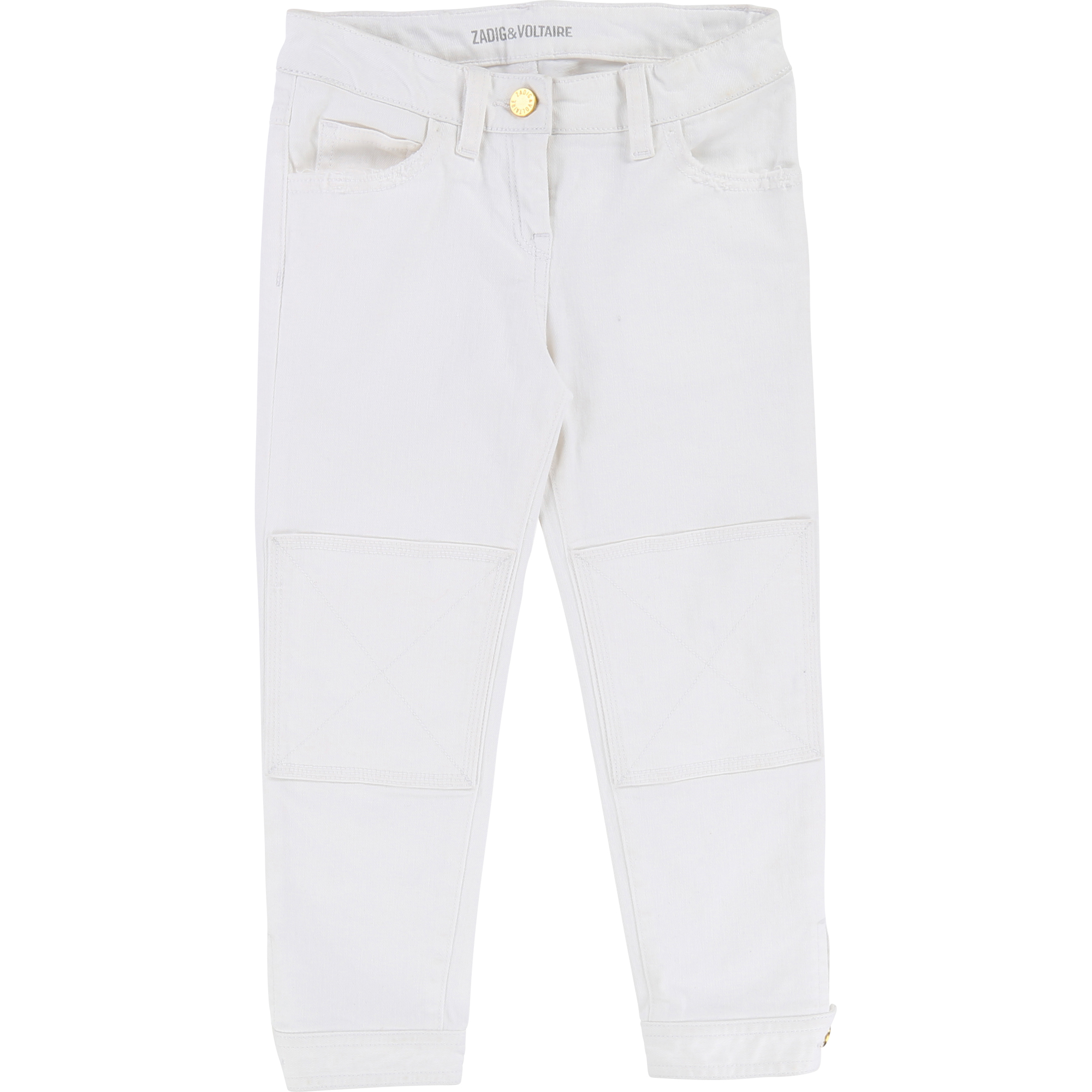 Zadig & Voltaire  - WHITE TROUSERS - Clothing