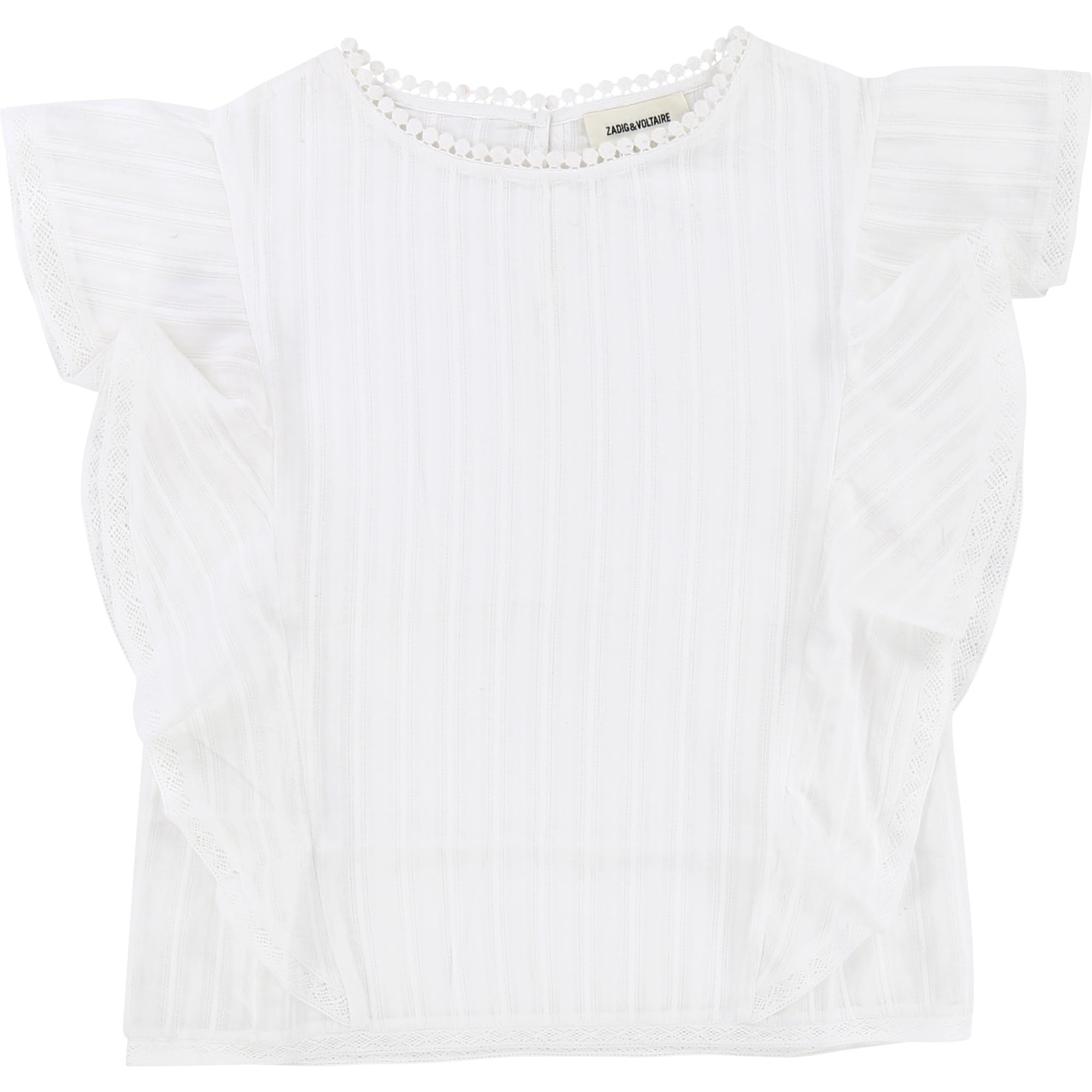 Zadig & Voltaire  - WHITE BLOUSE - Clothing
