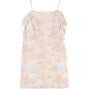 Carrément Beau  - SLEEVELESS TROPICAL DRESS - Clothing