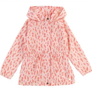 Carrément Beau  - PINK FLORAL WINDBREAKER - Clothing