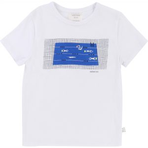 Carrément Beau  - WHITE SWIMMER T-SHIRT - Clothing
